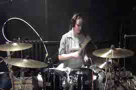 Michael Jackson - Drum Cover - Billie Jean, girl play on drums after 16 lessons
