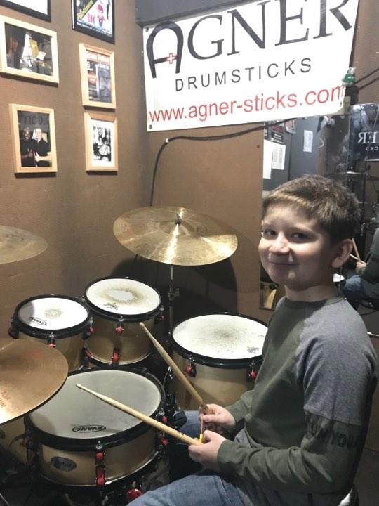 Юный барабанщик - Егор Олексиенко