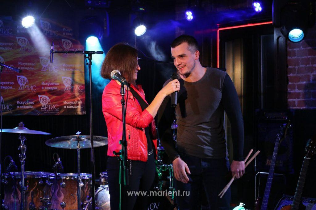 Барабанщик Григорий Люльев - участник отчетного концерта