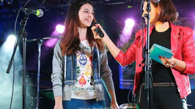 Юлия Иванова — один из талантов Центра искусств Артис