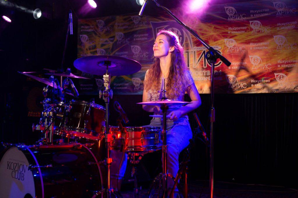 Уроки барабаны в Москве